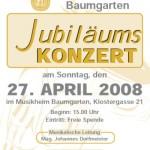Jubilumskonzertplakat
