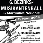 Bezirksmusikerball2009